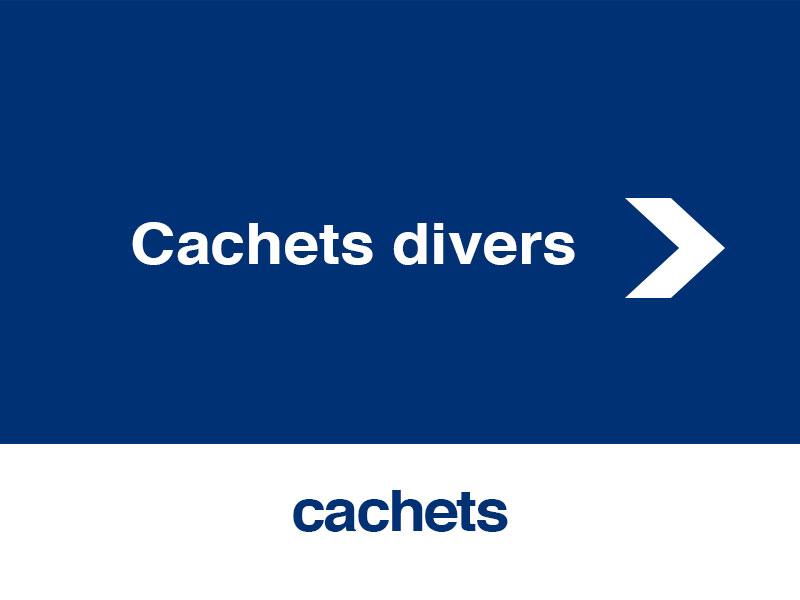 Cachets divers