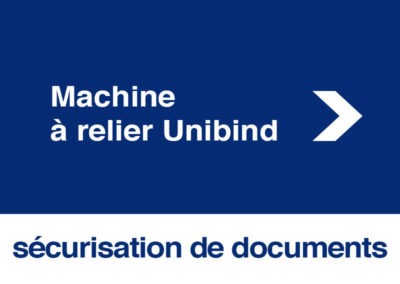 Machine relier Unibind